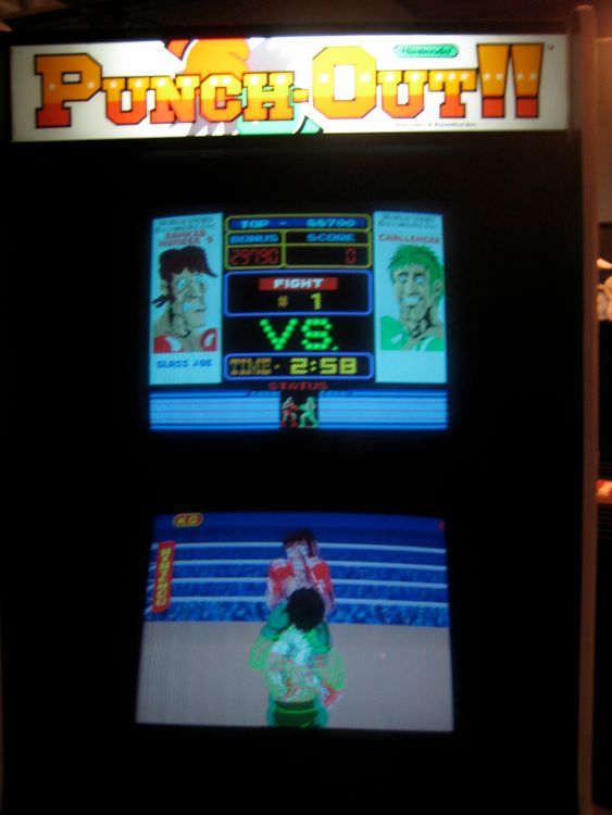 My most ambitious restore yet. Punch-Out!! cabinet is DONE! TONS ...
